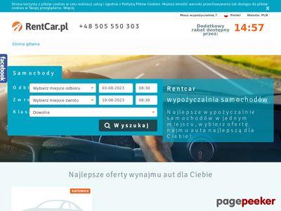 Wynajem aut - RentCar