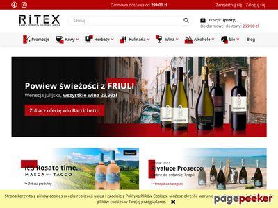 Sprzedaż kawy i sprzedaż herbaty - sklep z herbatą Ritex.pl