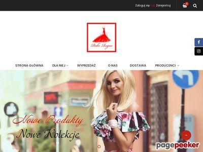Sklep online dla kobiet, sukienki, koszule, swetry, bluzki - Butik Robe Rogue Środa Wielkopolska