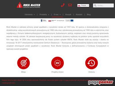 Szkolenia wysokościowe - rockmaster.com.pl