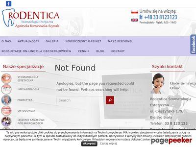 Rodentica - chirurgia dentystyczna