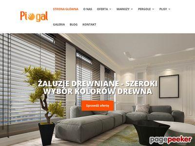 Markizy Warszawa Bemowo - PIOGAL