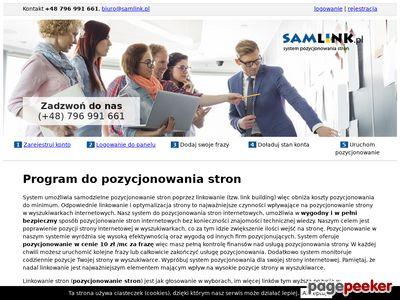 Polecamy system samlink.pl