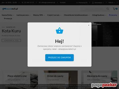 Saunatech.pl - sklep z wyposażeniem sauny fińskiej