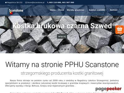 Scanstone.pl - kostka granitowa