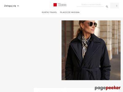 Elegancka odzież kobieca - shop.tiffi.com