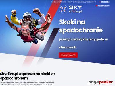 Skacz.pl skoki spadochronowe w tandemie Zielona Góra