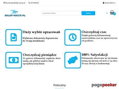 Dokumentacja HACCP