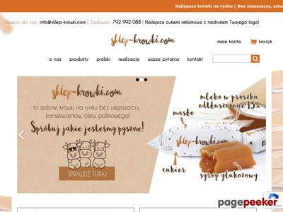 Sklep-krowki.com - cukierki krówki