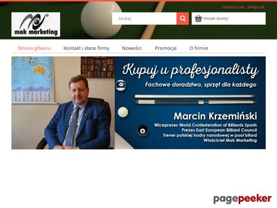 Sklep.makmarketing.pl | Snooker