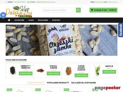 SklepDietetyczny.pl ze zdrową żywnością