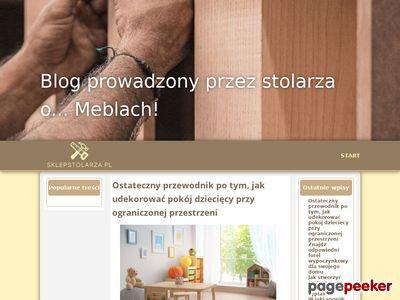Nowoczesne akcesoria meblowe sklepstolarza.pl