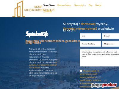 Pożyczki pod zastaw nieruchomości - skup-nieruchomosci24.pl