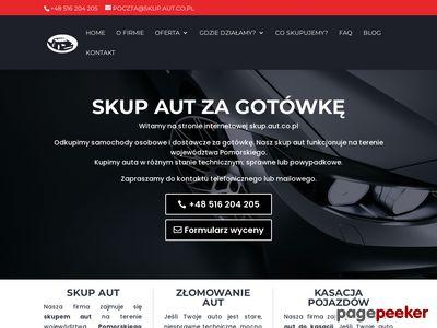 Skup aut za gotówkę Gdańsk