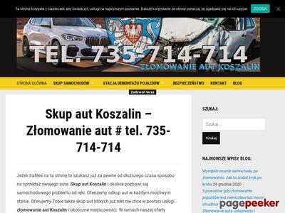 Skup aut Koszalin Złomowanie