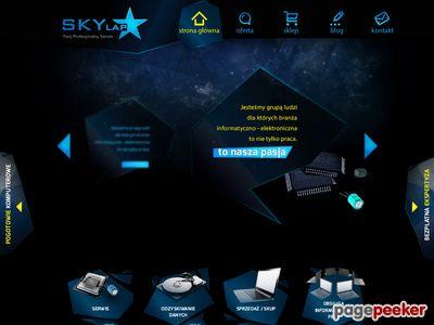 Naprawa komputerów w Olsztynie Skylap