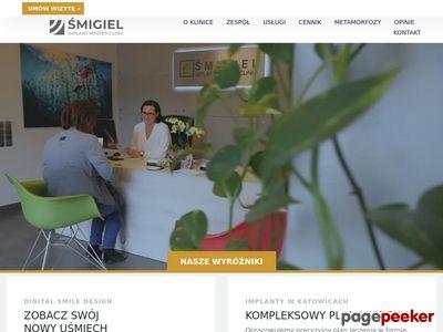 Leczenie paradontozy, implanty www.smigiel.net