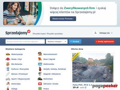 Tablica ogłoszeń - sprzedam na Sprzedajemy.pl