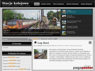 Stacje kolejowe w Polsce i na świecie
