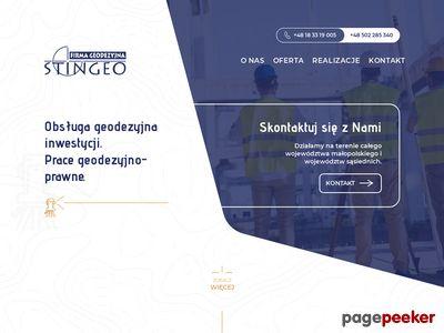 Http://stingeo.pl geodezja Limanowa
