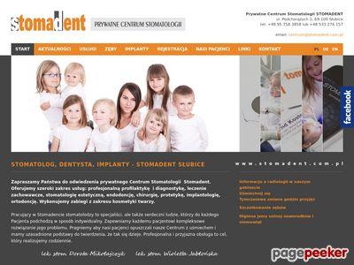 Dentysta Słubice - stomadent.com.pl