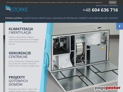 Klimatyzacja Łódź - montaż, naprawa, serwis wentylacji - Storke