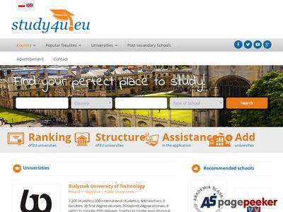 Study4u.eu - Uczelnie wyższe, studia