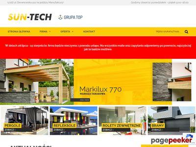 Http://sun-tech.pl - Producent rolet i markiz