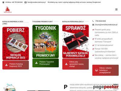 Swiatecznekosze.pl - zestawy upominkowe dla firm.