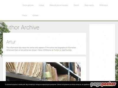SYSTEM Archiwizacja dokumentów