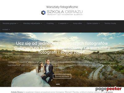Warsztaty fotograficzne - Szkoła Obrazu