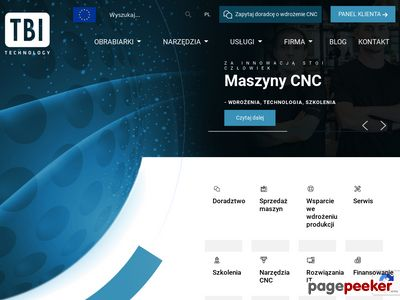 TBI Technology - frezarki cnc