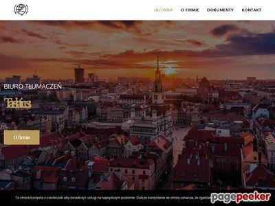 Najlepsze biuro tłumaczeń Poznań