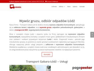Transport śmieci Łódź