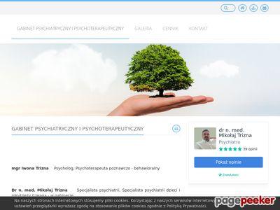 Specjalistyczny Gabinet Psychiatryczny Mikołaj Trizna