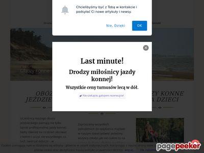 Obozy konne Trotter, obozy jeździeckie dla dzieci i dorosłych