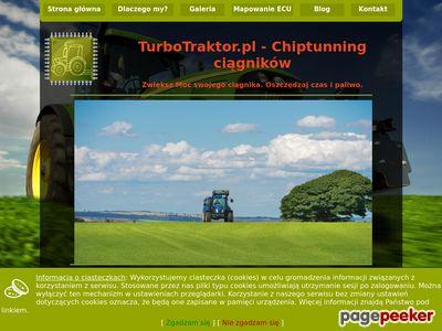 turbotraktor.pl - Zwiększenie mocy w ciągniku