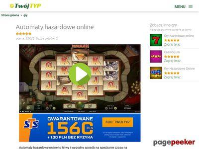 Automaty do gier hazardowych jak oszukać