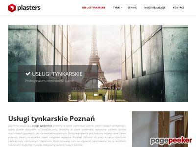 Firma tynkarska - Plasters