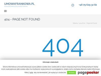 Odfrankuj kredyt z UmowaFrankowa.pl