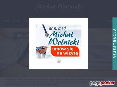 MICHAŁ WOLNICKI - Urolog Dziecięcy Kraków
