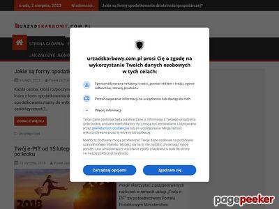 Wyszukiwarka Urzędów Skarbowych - urzadskarbowy.com.pl