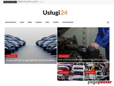 Porównywarka cen usług - Uslugi24.pl