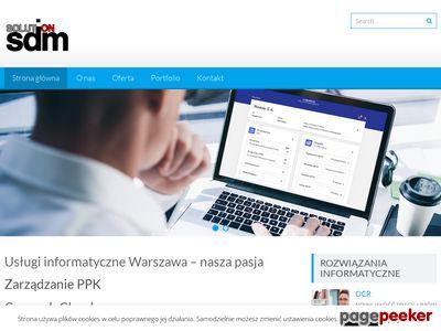 Usługi informatyczne Warszawa. Tworzenie stron www.