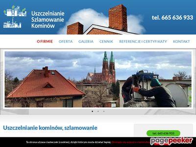 Przybyła - naprawy kominów w Bielsku