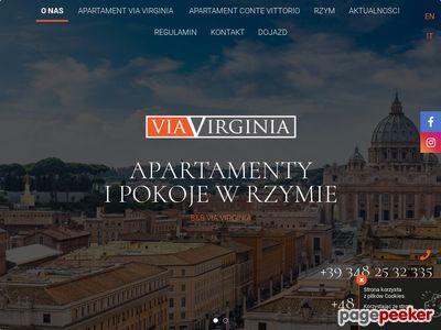 Noclegi Rzym u polaków - ViaVirginia