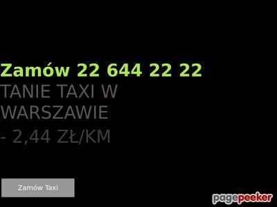 Eko Taxi Warszawa