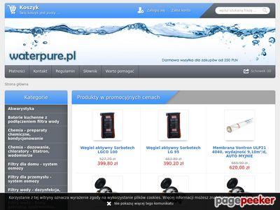 Uzdatnianie wody - filtry i wkłady - technika filtracyjna - sklep.