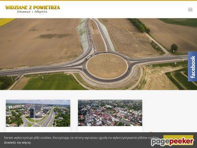 Filmowanie dronem - zdjęcia z drona Kraków