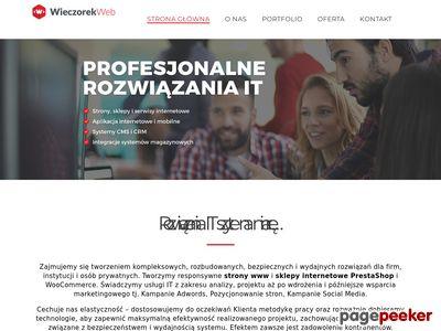 Robert Wieczorek- WieczorekWeb - Portfolio Programisty